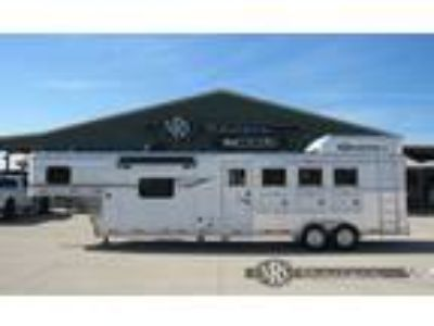 2019 SMC 4 Horse 11 Living Quarters Trailer with Slide Out 4 horses