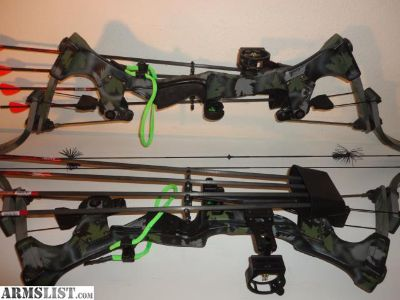 For Sale: Very Clean (C P Oneida) Strike Eagle Compound Bow With CASE - One Left