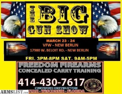For Sale: GUN SHOW V F W