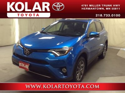 2018 Toyota RAV4 Limited (Electric Storm Blue)