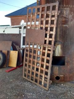Architectural Salvage Antique Territorial Jail Cell Door