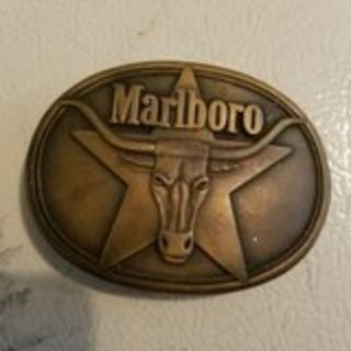 Marlboro belt buckle