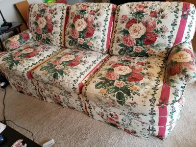 Feather couch