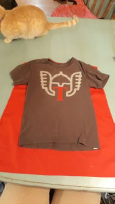 Thor Cape shirt size small 4/5