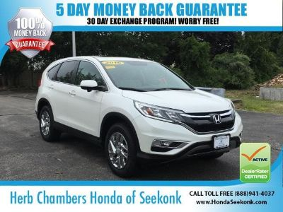 2016 Honda CR-V EX (White Diamond Pearl)