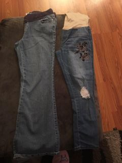 Maternity Jeans Large
