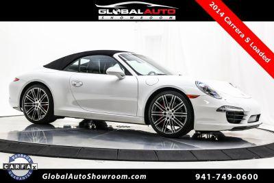 2014 Porsche 911 Carrera 4S (White)