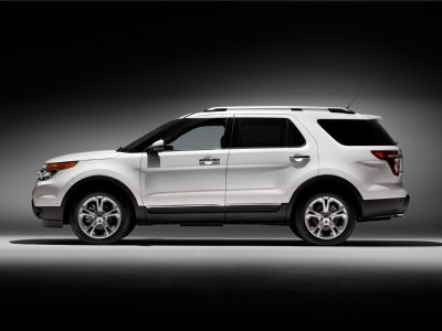 2014 Ford Explorer Limited (Tuxedo Black Metallic)