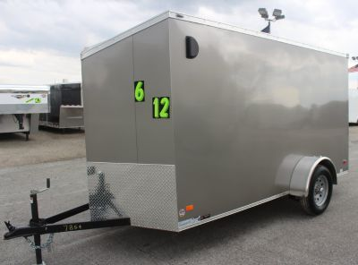 2019 6'x12' Cargo Trailer w/Ramp Door