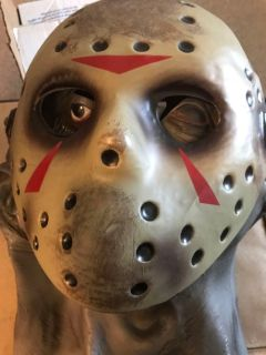 Like New Friday the 13th Latex Overhead Mask