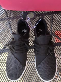 NEW W Tags - Justice slip on Sneakers - Size 9