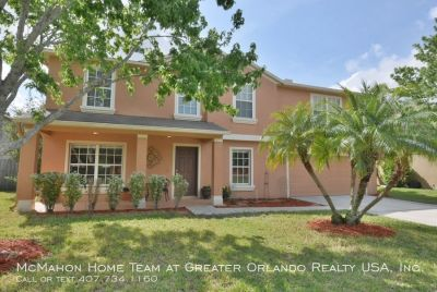 East Orlando 5br + LOFT, 2.5ba POOL home in GATED COMMUNITY of Eagles Hammock!! Fenced yard, heated pool, LAWN & POOL service INCLUDED.