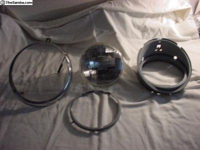 Hella Headlight Bucket,light,ring,complete