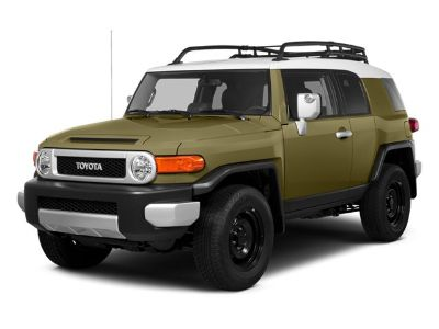 2014 Toyota FJ Cruiser Base (White)