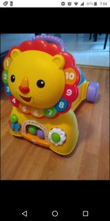 Fisher-Price 3in1 Sit, Ride and Stride Lion