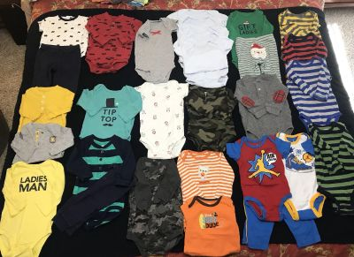 3-6 month boys outfits