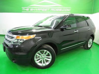 2015 Ford Explorer XLT 4x4 Leather 3rd Row BackUp Cam