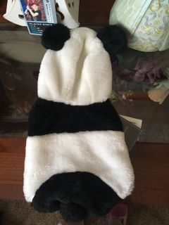 Extra Small Dog Panda Coat NWT