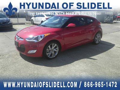 2017 Hyundai Veloster Base (Boston Red Metallic)
