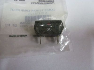 Find Ski-Doo Snowmobile OEM Red Pilot Lamp 515175713 motorcycle in Carey, Ohio, United States, for US $8.30
