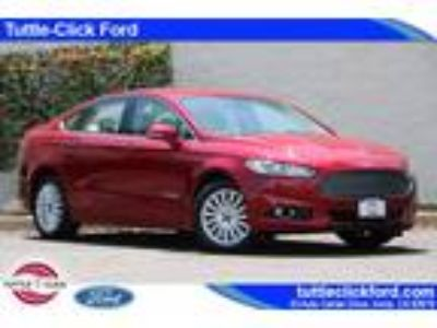 Used 2014 Ford Fusion Red, 24.2K miles