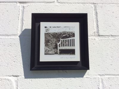 Wall Decor, wall hanging. Black and white 11 x 11