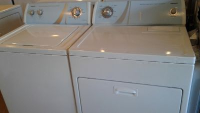 Name brand washer and dryer sets starting @