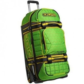 Sell New Ogio Rig 9800 Wheeled Motocross Gear Luggage Bag Green Hive motorcycle in Ashton, Illinois, US, for US $239.90