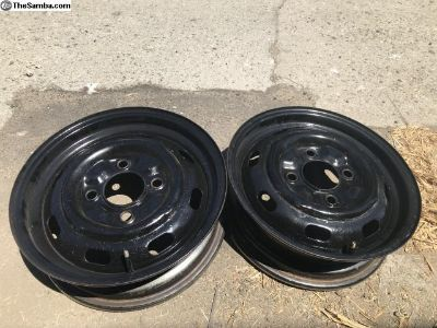 OEM German 4lug Wheels Rims Pair