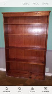 Bookcase With Five Shelves