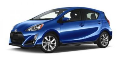 2019 Toyota Prius c One (Red)