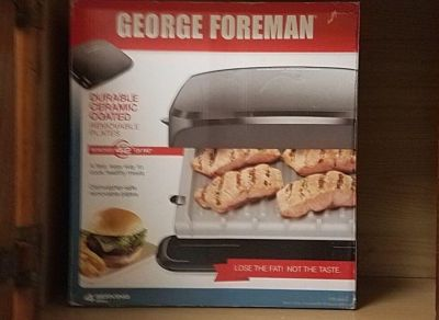 NEW George Foreman Grill!