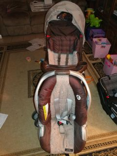 Graco seat with base and stroller