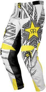 Purchase MSR Rockstar White Size 34 Dirt Bike Pants Motocross MX ATV Riding Pant motorcycle in Ashton, Illinois, US, for US $134.96