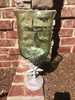 Coastal candle holder