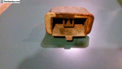 original split bus ashtray. nice shape