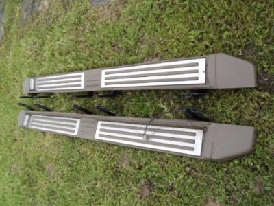 Find 2012 F250 King Ranch Factory Steps 99-16 F350 Crew Cab Running Boards 526A motorcycle in Channelview, Texas, United States, for US $250.00