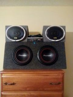 Pioneer Speakers amd Amp