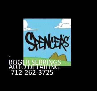 L@@k((DETAILING IS ALL I DO ))))Roger Sebring's Auto Detailing 11 W 2nd St.Spencer,IA 51301 Wash.Wax