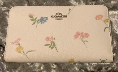 Brand new floral coach wallet