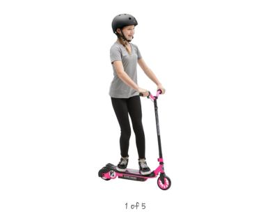 Pink Pulse Electric Revster Scooter