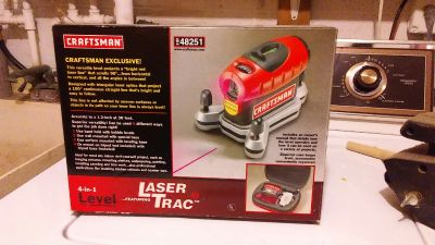 Craftsman Laser Trac