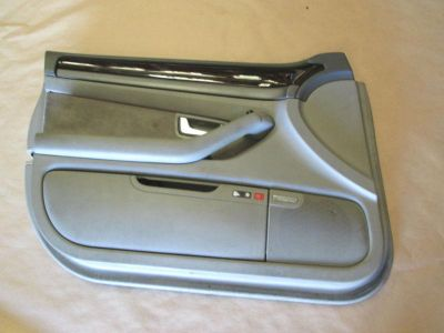 Purchase 04 AUDI A8 QUATTRO INTERIOR TRIM DOOR PANEL W/ WINDOW SWITCH FRONT LEFT GRAY motorcycle in Riverview, Florida, US, for US $135.00