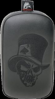 Find Phantom Pad Ghoul Pillion Pad Top Hat Skull (SE303VTHSB) motorcycle in Holland, Michigan, United States, for US $125.35
