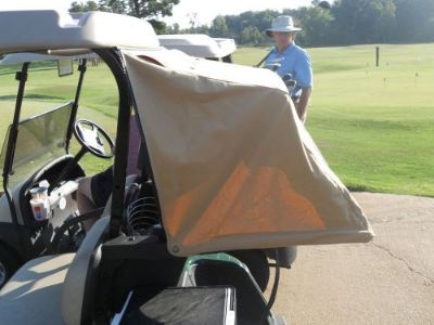 Purchase SUNBRELLA GOLF CART CLUB CAR PREC CABANA BAG COVER REG. $198 BLACK OR TOAST motorcycle in North Little Rock, Arkansas, United States, for US $169.00