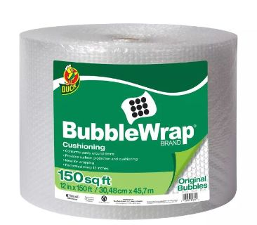 Bubble Wrap ORIGNAL BY DUCK 12x150 SQ.FT Brand new