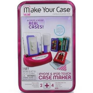 Brand New MakeYour Case Phone Case Maker iPhone 5/5S/5C iPod Touch 5 Samsung Galaxy S3/s4