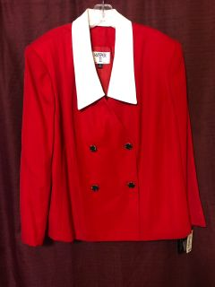 22W dress blazer new with tags