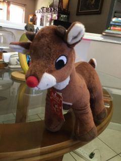 NWT! Rudolph the Red-Nose Reindeer! NS Meet AB Park or PPU