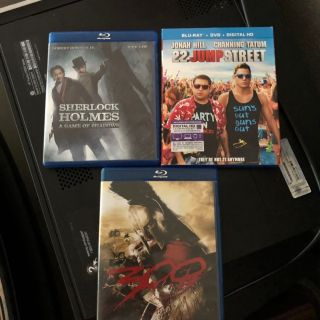 Pick your Blu Ray Movie